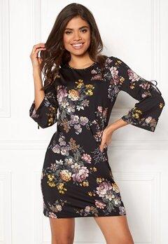 Happy Holly Melinda dress Black / Patterned Bubbleroom.se