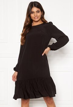 Happy Holly Melony dress Black Bubbleroom.se