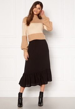 Happy Holly Melony skirt Black Bubbleroom.se