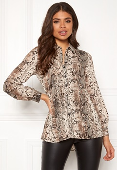 Happy Holly Mia blouse Animal print Bubbleroom.se