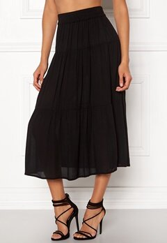 Happy Holly Mia skirt Black Bubbleroom.se b00d0d62342f3