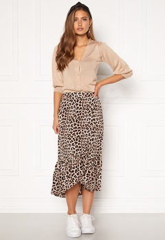 Happy Holly Michelle skirt Leopard Bubbleroom.se