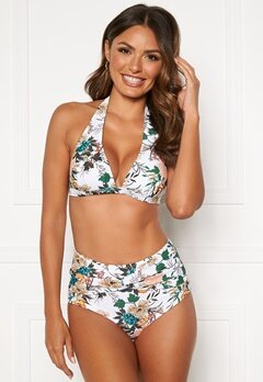Happy Holly Mila bikini briefs White / Floral Bubbleroom.se