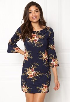 Happy Holly Milla dress Blue / Patterned Bubbleroom.fi