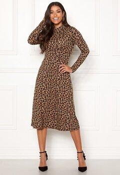 Happy Holly Miriana dress Leopard / Patterned Bubbleroom.se