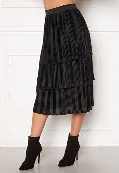 Happy Holly Naomi pleated skirt Black Bubbleroom.se