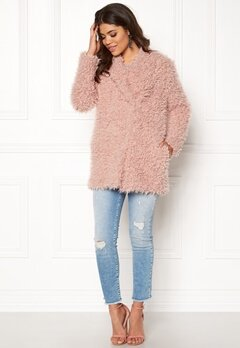 Happy Holly Natalie jacket Dusty pink Bubbleroom.se