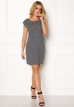 Happy Holly Nora dress Black / Patterned Bubbleroom.se