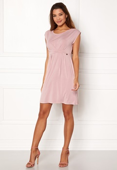 Happy Holly Nora dress Dusty pink Bubbleroom.se