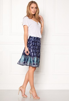 Happy Holly Pam Skirt Blue / Patterned Bubbleroom.eu