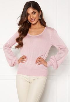 Happy Holly Pembe sweater Dusty pink Bubbleroom.se