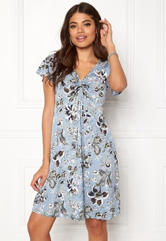 Happy Holly Reanna dress Medium blue / Patterned Bubbleroom.se
