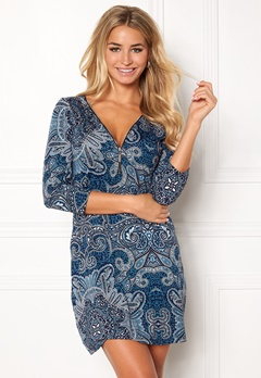 Happy Holly Renata dress Blue / Patterned Bubbleroom.no