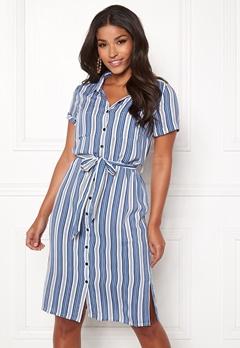 Happy Holly Ronja shirt dress Striped Bubbleroom.se