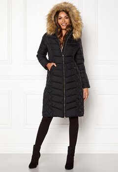 Happy Holly Sadie long jacket Black Bubbleroom.se