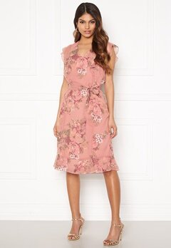 Happy Holly Sally dress Pink / Floral Bubbleroom.se