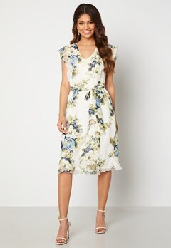Happy Holly Sally dress White / Floral Bubbleroom.se