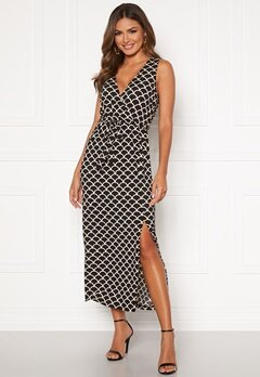Happy Holly Sam maxi dress Black / Patterned Bubbleroom.se