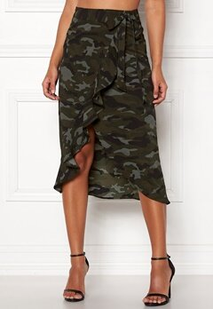 Happy Holly Sandie skirt Camouflage Bubbleroom.se