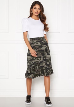 Happy Holly Sandy frill skirt  Camouflage Bubbleroom.se