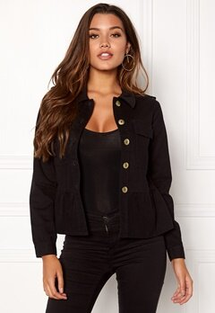 Happy Holly Sanne jacket Black Bubbleroom.se