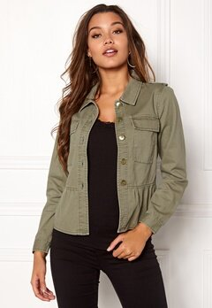 Happy Holly Sanne jacket Khaki green Bubbleroom.se