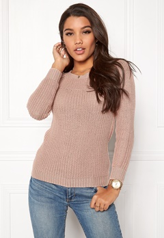 Happy Holly Sara sweater Dusty pink Bubbleroom.fi
