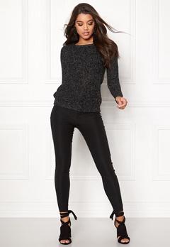 Happy Holly Sara sweater Black Bubbleroom.no