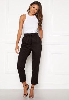 Happy Holly Sarah high waist pants Black Bubbleroom.se