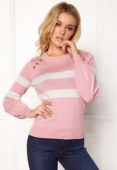 Happy Holly Sasha sweater Pink Bubbleroom.se