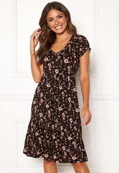 Happy Holly Scarlett dress Black / Patterned Bubbleroom.se