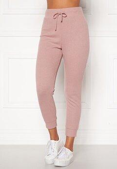 Happy Holly Selena cosy pants Dusty pink Bubbleroom.se