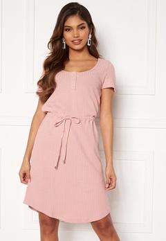 Happy Holly Serena dress Dusty pink Bubbleroom.se