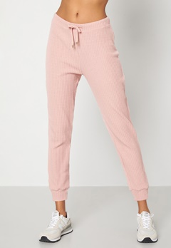 Happy Holly Serena pants Dusty pink bubbleroom.se