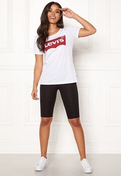Happy Holly Sofia biker leggings Black Bubbleroom.se