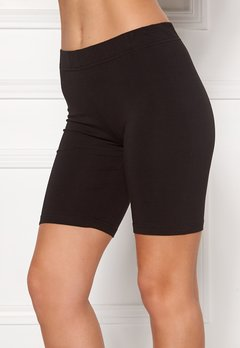 Happy Holly Sofia short leggings Black Bubbleroom.se