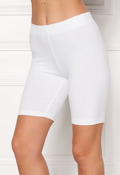 Happy Holly Sofia short leggings White Bubbleroom.se