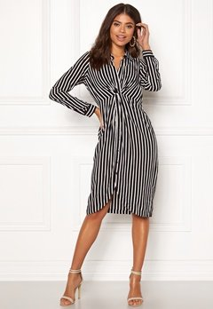 Happy Holly Sophia shirt dress Striped Bubbleroom.se