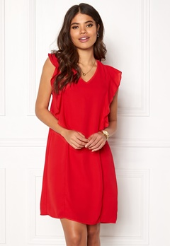 Happy Holly Stella dress Red Bubbleroom.se