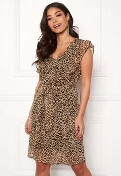 Happy Holly Stella dress Leopard Bubbleroom.se