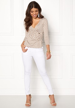Happy Holly Stella top Sand / Offwhite Bubbleroom.fi