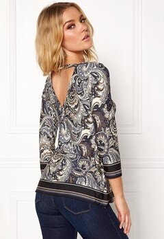 Happy Holly Taylor top Blue / Patterned Bubbleroom.se