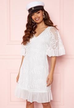Happy Holly Teresa dress White Bubbleroom.se