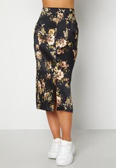 Happy Holly Teresa skirt Black / Patterned Bubbleroom.se