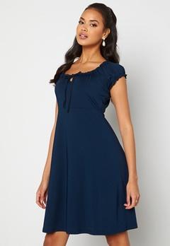 Happy Holly Tessan dress Dark blue Bubbleroom.se