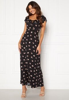 Happy Holly Tessie maxi dress Black / Patterned Bubbleroom.se