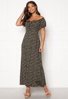 Happy Holly Tessie maxi dress Black / Patterned Bubbleroom.se