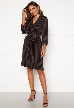 Happy Holly Thea shirt dress Striped Bubbleroom.se