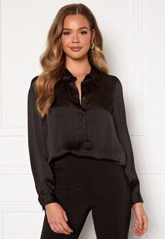 Happy Holly Trinity shirt blouse Black Bubbleroom.se