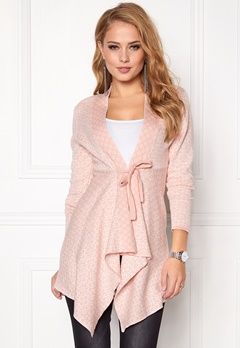 Happy Holly Trinny Cardigan Light pink / Offwhite Bubbleroom.eu